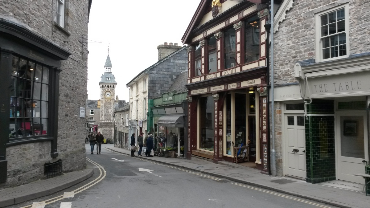Hay-on-wye, Booth's Bookshop
